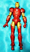 """IRON MAN 4"""" Marvel Universe Red Gold 2009 Hasbro Scale Action Figure"""