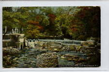 (w16e399-361) Scene at Hunts Mills, East Providence, Rhode Island, USA 1911 VG