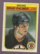 1982-83 OPC O-Pee-Chee Hockey Brad Palmer #21 Boston Bruins NM/MT