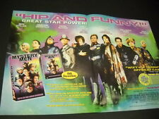 Mystery Men Hip and Funny 1999 Supersized Promo Display Ad Kinnear Macy Reubens