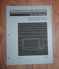 ONAN HGJAA HGJAB HGJAC GENSET SERVICE MANUAL 983-0501D