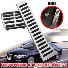 RHD Gas Fuel Brake Foot Rest Pedal For VW Volkswagen Passat AT B7 CC Jetta Golf