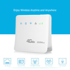 300Mbps 4G LTE Wireless Router Mobile Wifi SIM Card Wireless CPE with LAN Port