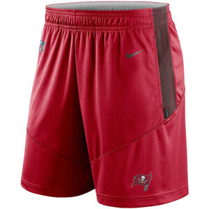 Brand New 2021 NFL Tampa Bay Buccaneers Nike Sideline Performance Knit Shorts TB