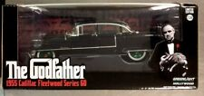 GREENLIGHT CHASE GREEN MACHINE THE GODFATHER 1955 CADILLAC FLEETWOOD SERIES 60.