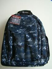 USN US NAVY NWU BLUE MARPAT CAMO CAMOUFLAGE WATERPROOF LIGHT WEIGHT BACK PACK