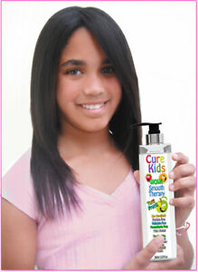 Cure Kids WoW! Straight Hair Smooth Keratin Treatment Safe for Children 8 oz