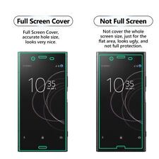 2x FULL SCREEN Face Curved TPU Screen Protector Cover For Sony Xperia XA2