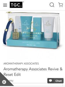 BNIB aromatherapy associates Revive & Reset Edit Kit RRP £33
