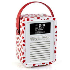 2f20f4636bc VQ Retro Mini DAB+ FM Radio with Bluetooth Speaker - Lulu Guinness Red Lip