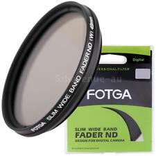 Fotga49mm Camera Slim Fader Variable Nd Filter Neutral Density Nd2 to Nd400 H6k4