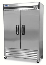 Norlake NLR49-S AdvantEDGE™ Commercial Two Door Reach-In Refrigerator