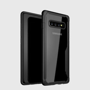 Shockproof Armor Clear Slim Hybrid Bumper Rugged Case For Samsung Galaxy Phones