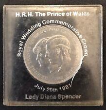 1981 Charles & Diana Royal Wedding Commemorative Crown Coin