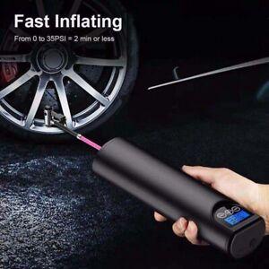 12V Portable Wireless Air pump Air electric tire inflator car bicycle auto car A