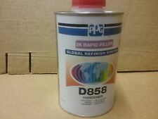 PPG D858 2K Fast Hardener   1 litre     Deltron Catalyst Activator