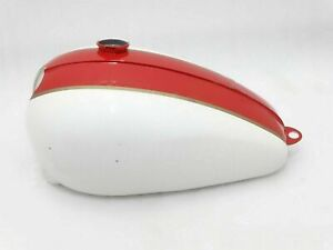 New Fits Triumph T120 Red And White Paint Fuel Petrol Tank