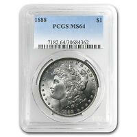 1888 Morgan Dollar MS-64 PCGS - SKU #4612
