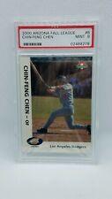 Chin Feng Chen 2000 Arizona Fall League #8 Peoria Javelinas PSA MINT 9 Dodgers