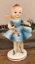 Vintage Kelvin Exclusives Porcelain Ballerina Angel Figurine w/Original Sticker