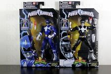 "BLUE, BLACK RANGER Figure 6.5"" Power Rangers LEGACY COLLECTION 2016 BAF Megazord"