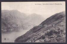 COMO LANZO D'INTELVI 32 FUNICOLARE S. MARGHERITA Cartolina viaggiata 1908