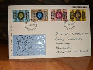 GB 1977 Silver Jubilee First Day Cover FDC #174