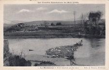LA MADELEINE inondation du midi 1930 1 pont emporté par les eaux éd bouzin
