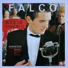 "Original 1986 FALCO Rock Me Amadeus Promotional Poster 24"" x 24"" Excellent A&M"