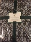 NIP Williams Sonoma Grande Cuisine 70x108 Tablecloth Black/White Logo