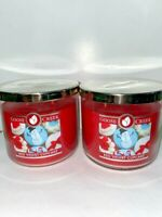 ☆RED VELVET CUPCAKE☆SET OF 2 GOOSE CREEK CANDLE JARS 14.5 OZ.☆FREE SHIPPING