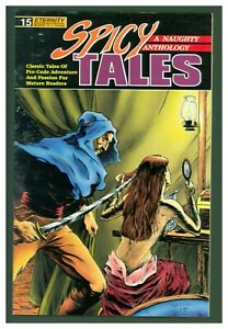 Spicy Tales #15 VG+ 1990 Eternity Comics - GGA Cover