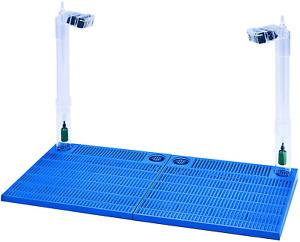 Premium Under Gravel Filter System 40-55 Gallon Fish Tanks & Aquariums Blue
