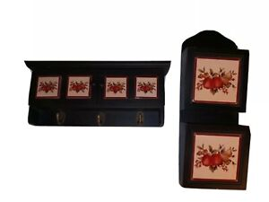 CUTE Letter holder and key cabinet with storage vintage/retro/ traditional style