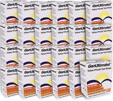 GenUltimate! 100ct Test Strips - Case of 24