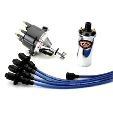 Pertronix Vw Ignition Kit With Ignitor 1 Billet Distributor, Coil, Blue Wires