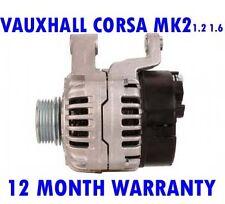 Vauxhall corsa mk2 mk II 1.0 1.2 12V 16V 2000 2001 2002 - 2006 alternator