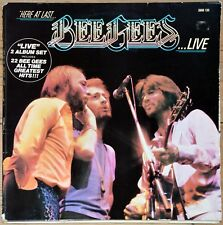 33t Bee Gees - Here at Last… Bee Gees … Live (2 LP)