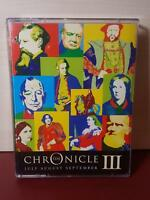 The Chronicle III v.3 - July Aug Sept, by Mr Punch Audio Books (Audio cassettes)