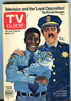 TV Guide Magazine March 11-17 1978 Kene Holliday Carter Country VG 050916jhe