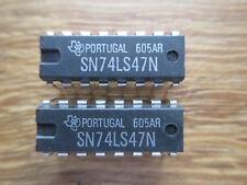 2 x SN74LS47N