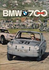 BMW 700 COUPE SPORT Classic Car Vintage Prospekt Brochure 1961 83