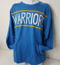 Golden State Warriors NBA Basketball Acrylic Sweater Size Large UNK