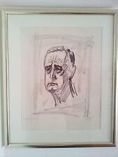 Otto Dix, Portrait Carl Jacob Burckhardt II. 1961.  Exemplar 66/100 Handsigniert