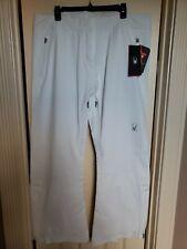"Spyder Women's Traveler Ski Pant WHITE (Size 18/R) 30.5"" Inseam NWT MSRP $350"
