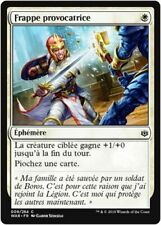 MTG Magic WAR - (x4) Defiant Strike/Frappe provocatrice, French/VF