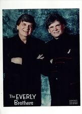 The Everly Brothers 8X10 Promotional Press Photo