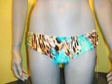 LuliFama Luli Fama Caribe bikini bottom L Large Neu New Nieuw scrunch back