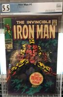 Hot! Invincible Iron Man 1 Graded 5.5 PGX Not CGC Or CBCS Iron Man Back In MCU!