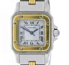 CARTIER SANTOS DAMENUHR SWISS MADE AUTOMATIK REF. 1170902 STAHL/GOLD INKL. BOX